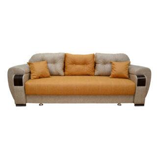 Canapea extensibilă Orbay maro cu gri