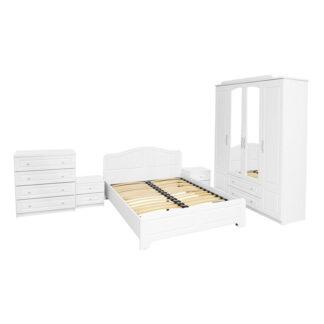 Dormitor Sara culoare albă