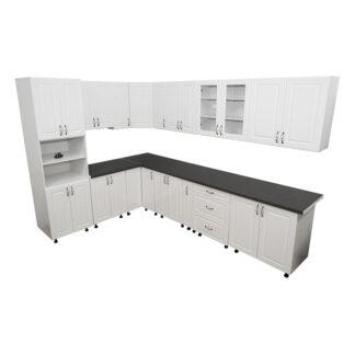 Mobilă bucătărie modulară Zebra albă