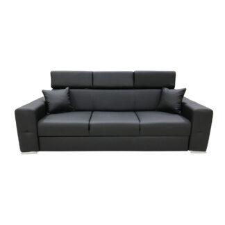 Canapea extensibilă Bellagio neagră