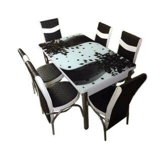 Set masă sticlă extensibilă model 06