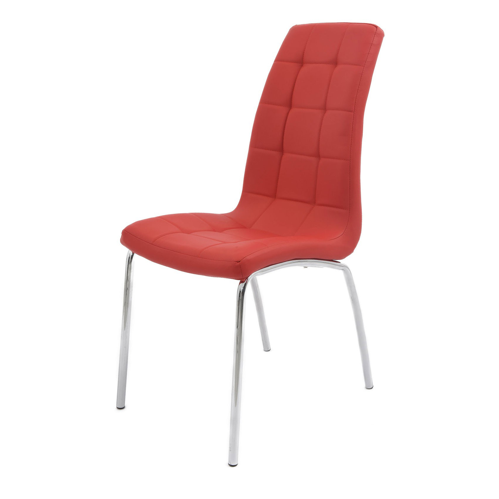 Scaun fix S-02 culoare roșie