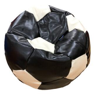 Fotoliu minge negru cu alb