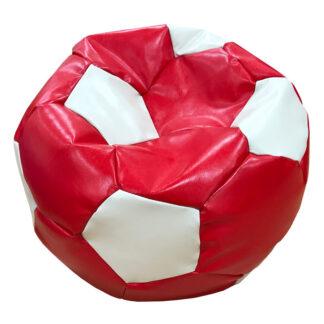 Fotoliu minge roșu cu alb