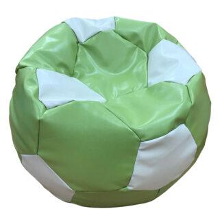 Fotoliu minge verde cu alb