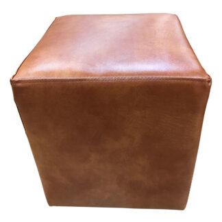 Taburet Cube maro