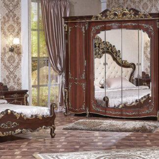 Dormitor Veneția maro